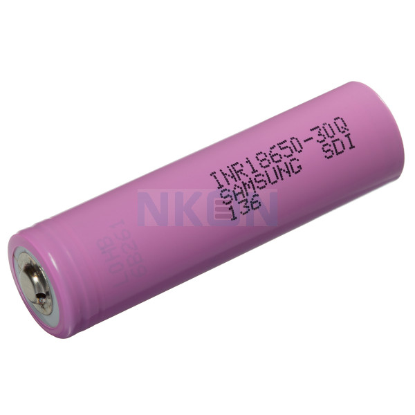 Samsung INR18650-30Q 3000mAh -  15A button top