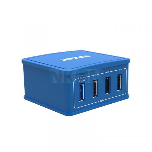 XTAR 4U USB-lader