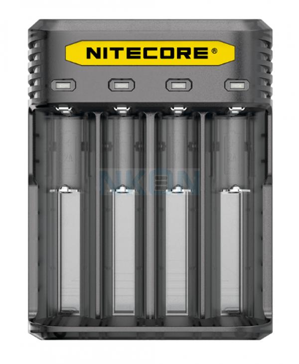 Nitecore Q4 batterijlader  - Blackberry
