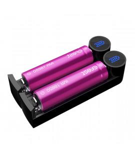 Efest Slim K2 - USB-batterijlader