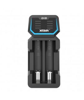 Xtar D2 batterijlader
