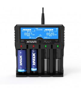 XTAR VP4 Plus Dragon batterijlader