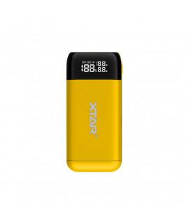 XTAR PB2S powerbank / batterijlader - Geel